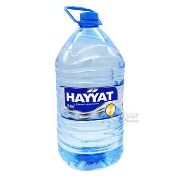 """Стерилизованная вода """"Haýýat"""" 5 Л"""