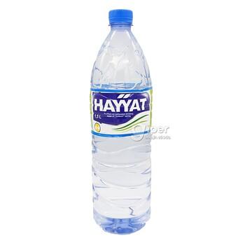 """Стерилизованная вода """"Haýýat"""" 1.5 Л"""
