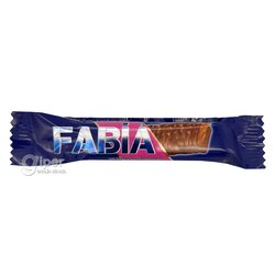 """Батончик """"Fabia"""" молочный шоколад и карамель, 22 гр"""
