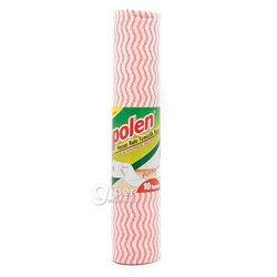 Перфорированные салфетки в рулоне для уборки Polen, 10 шт