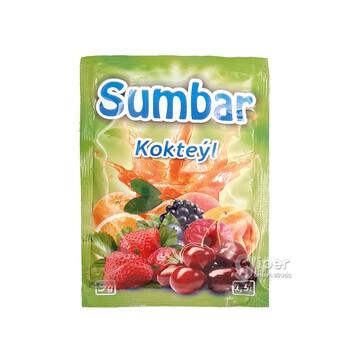 """Гранулированный растворимый напиток """"Sumbar"""" со вкусом коктейль, 9 г"""