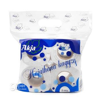 """Туалетная бумага """"Akja"""" 2 слоя, 4 рулона"""