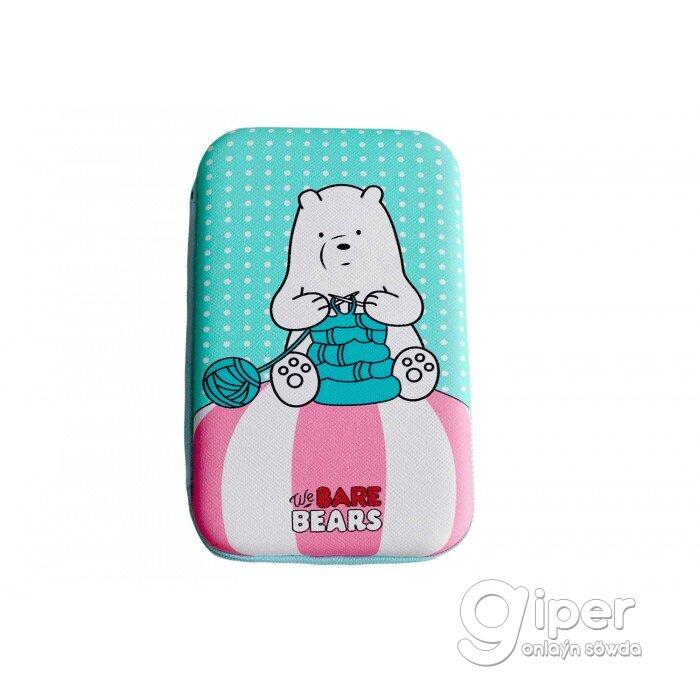 Чехол для ЖД We Bare Bears with Knitting Needles
