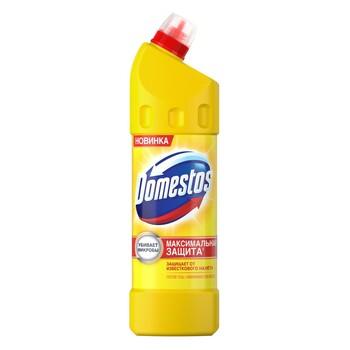 """Универсальный чистящий гель Domestos """"Лимонная свежесть"""", 1 л"""