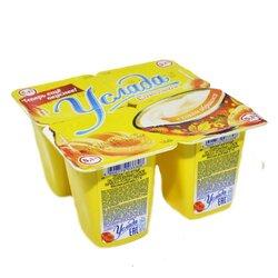"""Продукт йогуртный """"Услада молочная"""" 1,2% с соком абрикоса, 95 г"""