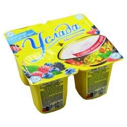 """Продукт йогуртный """"Услада молочная"""" 1,2% с соком лесных ягод, 95 г"""
