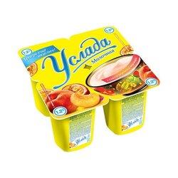 """Продукт йогуртный """"Услада молочная"""" 1,2% с соком персика и маракуйи , 95 г"""