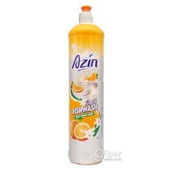 """Средство для мытья посуды Azin """"Апельсин"""", 1 л"""