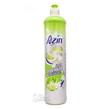 """Средство для мытья посуды Azin """"Лимон"""", 1 л"""