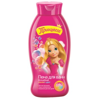 """Детский Пена для ванн Принцесса """"Волшебная"""", 400 мл"""
