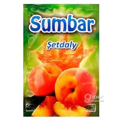 """Гранулированный растворимый напиток """"Sumbar"""" со вкусом персика, 9 г"""