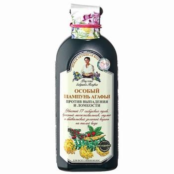 Рецепты бабушки Агафьи шампунь Особый против выпадения и ломкости волос, 350 мл