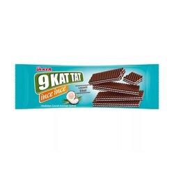 """""""9 KAT TAT"""" вафля с кокосовым кремом от Ülker, 114 г"""