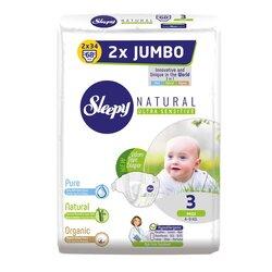 Sleepy Natural Ak Jumbo 2X Maxi 3, 4-9 кг, 68 шт
