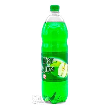"""Безалкогольный газированный напиток Akar """"Яблоко"""", 1.5  л"""
