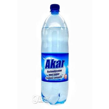 """Безалкогольный газированный напиток Akar источник """"Янбаш"""", 1.5 л"""