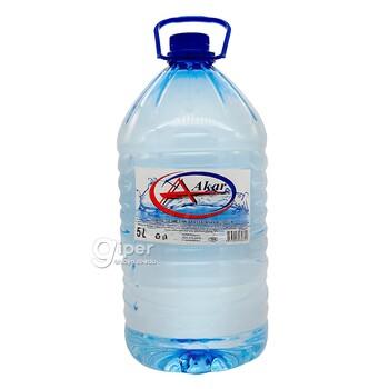 """Стерилизованная вода """"Akar""""5 Л"""