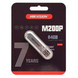 Накопитель USB HIKVISION HS-M200P 64GB USB 2.0