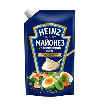 Майонез Heinz Классический Густой 67%, 350г