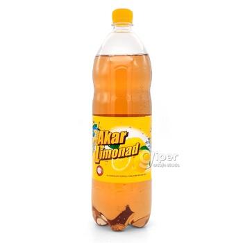 """Безалкогольный газированный напиток Akar """"Лимонад"""", 1.5 л"""