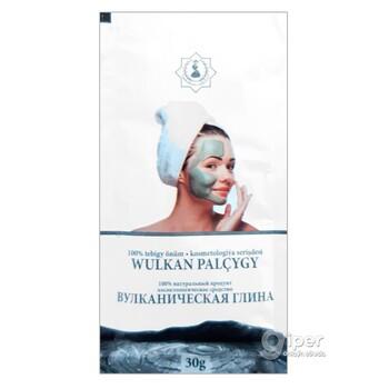 Вулканическая глина - косметологическое средство, 30 г