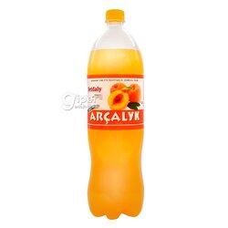 """Безалкогольный газированный напиток Arçalyk """"Персик"""", 1,5 л"""
