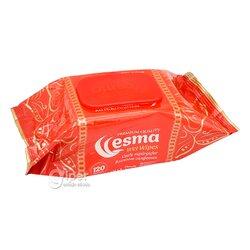 Влажные салфетки Esma пластиковая крышка 120шт