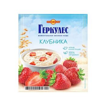 Каша Русский продукт Геркулес Овсяная с клубникой , 35 г