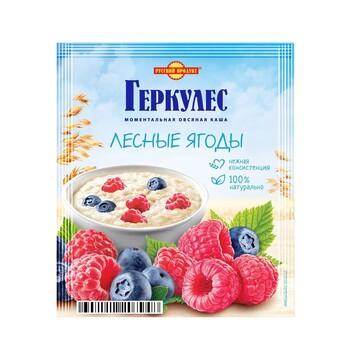 Каша Русский продукт Геркулес Овсяная с лесными ягодами , 35 г
