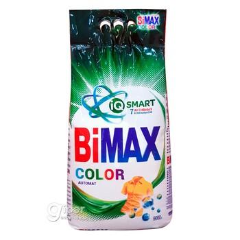 """Моющее средство BiMAX """"Color"""" автомат, пакет 9 кг"""