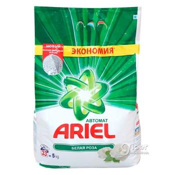 """Стиральный порошок Ariel """"Белая роза"""" (автомат) 5 кг"""