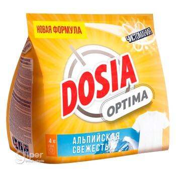 """Стиральный порошок Dosia Optima """"Альпийская свежесть"""", 4 кг"""