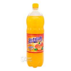 """Безалкогольный газированный напиток Ak ýol """"Персик"""", 1.5 л"""