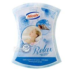 Губка банная Nicols Relax массажная, 1 шт