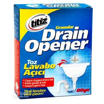 Антизасор средство для прочистки канализационных труб Titiz 80 г
