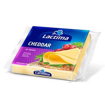 Плавленный Сыр Lactima Cheddar, 130 г