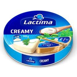 Плавленный Сыр Lactima Creamy, (8 шт) 120 г