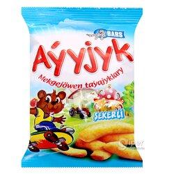 """Сахарные кукурузные палочки Bars """"Aýyjyk"""", 20 г"""