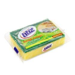 Губка для мытья посуды Titiz, 1 шт