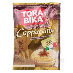 "Kofe ""Tora bika"" Cappuccino şokolad owuntyklary bilen, 25 gr"