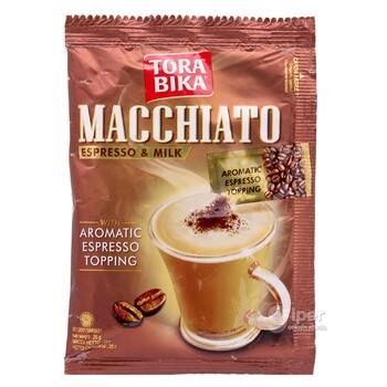 "Kofe ""Tora bika"" Macchiato Espresso + üwelen kofe, 25 gr"