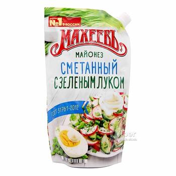 Майонез Махеевъ Сметанный с зеленым луком, 380 г