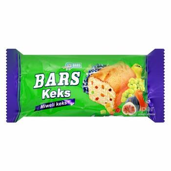 BARS фруктовый кекс, 40 г