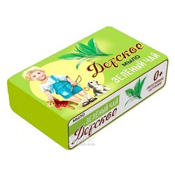 """Мыло для детей Детское """"Зеленый чай"""" 90 г"""