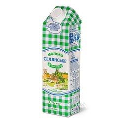 Молоко ультра пастеризованное «Селянське», 1,5 % жира, 950 г