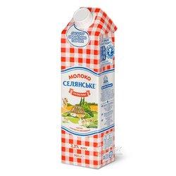 Молоко ультра пастеризованное «Селянське» «Особливе», 3,2 % жира, 950 г