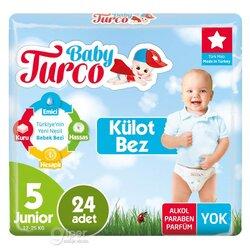 Детские трусики Baby Turco № 5 Junior, 12-25 кг, 24 шт