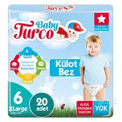 Детские трусики Baby Turco № 6 XLarge, 16+ кг, 20 шт