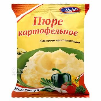 """Пюре картофельное """"Мира"""" со вкусом овощей, 100 г"""