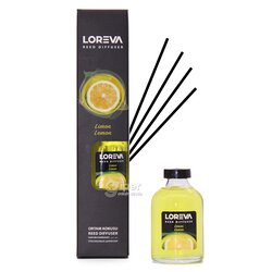 """Декоративный ароматизатор воздуха """"Loreva"""" Лимон, 55 мл"""